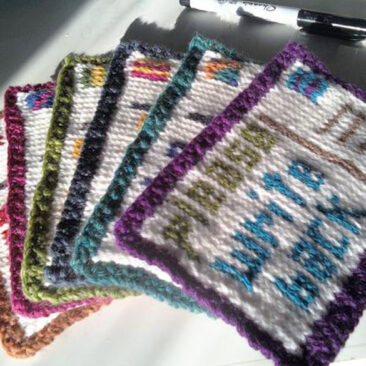 Knit Postcards
