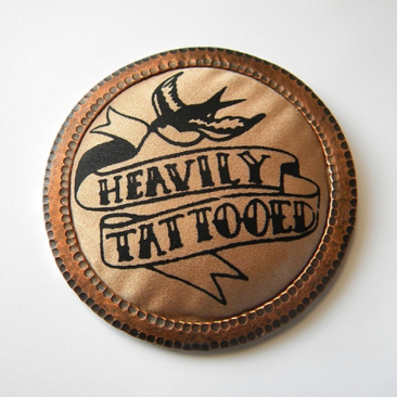 Heavily Tattooed Pin